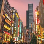 Godzilla at Kabukicho Shinjuku Tokyo