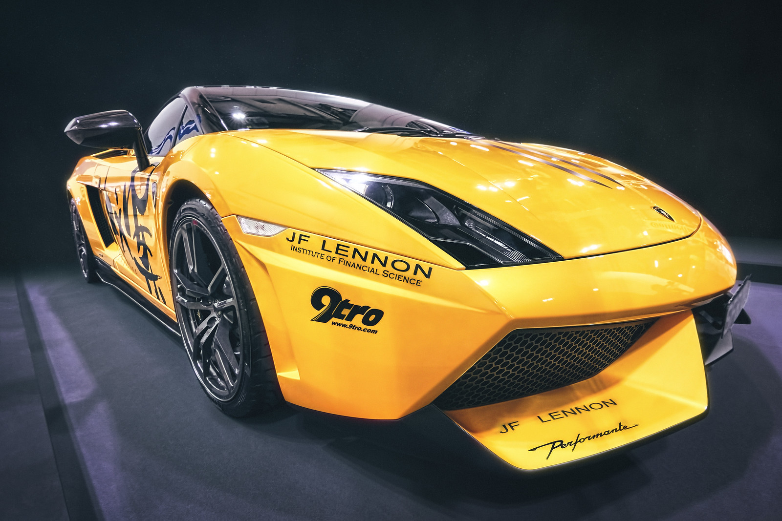 The Yellow Lamborghini Gallardo Dlifejourney