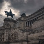 Equestrian Statue of the King Vittorio Emanuele II Rome Italy