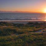 Sunset at Indian Ocean Drive Perth Australia