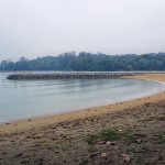 Beach at Kusu Island Singapore