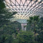 HSBC Rain Vortex Jewel Changi Airport