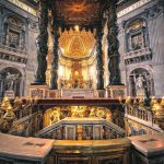High Altar of St Peter's Basilica Rome
