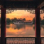 The Stone Boat of Chinese Garden Singapore