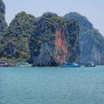Limestone Cliffs at Phang Nga Bay Phuket Thailand