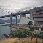 Noah's Ark Beachfront of Tsing Ma Bridge Hong Kong