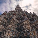 Spire of Wat Arun Bangkok Thailand